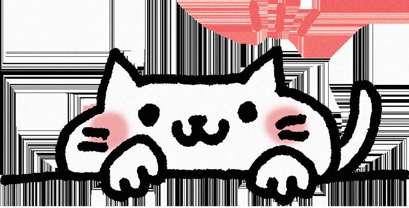 猫イメージイラスト