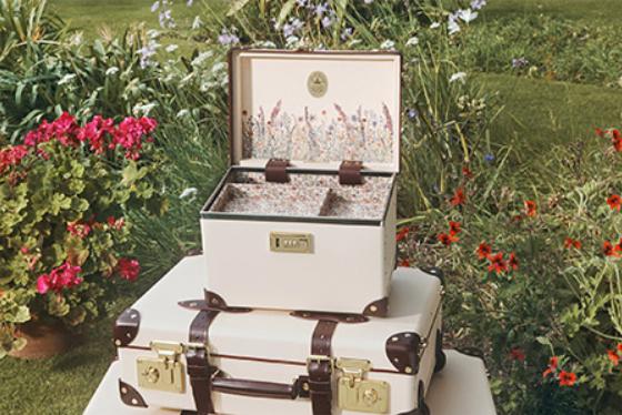 倉科カナ愛用のメイクボックス(化粧ボックス)は、どこ?紙製のスーツケースメーカー【グローブ・トロッター/GLOBE-TROTTER】