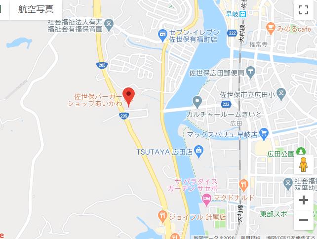 グーグルマップイメージ