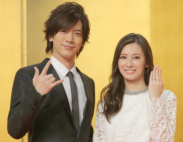 妊娠何カ月目?北川景子第1子妊娠。DAIGO、今年パパになる