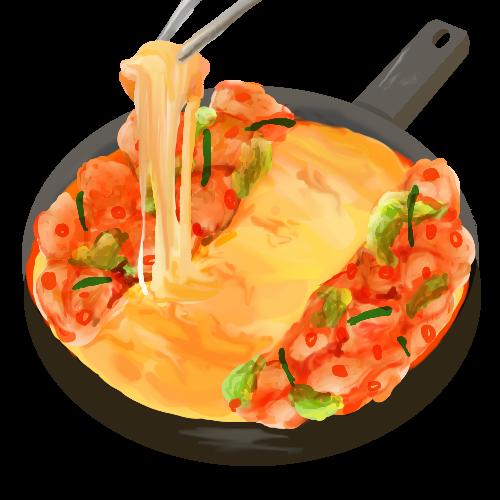キムチ鍋の素の代用は?コンビニ食材だけでチーズタッカルビ 材料と作り方