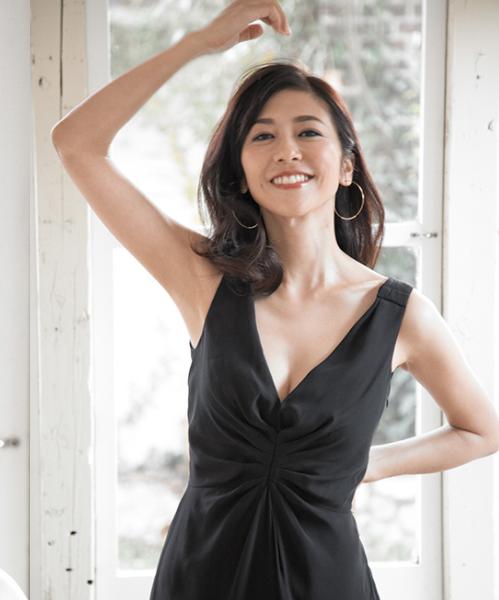 40代女優【白石美帆】のスタイル良し(体型維持)の理由を調査